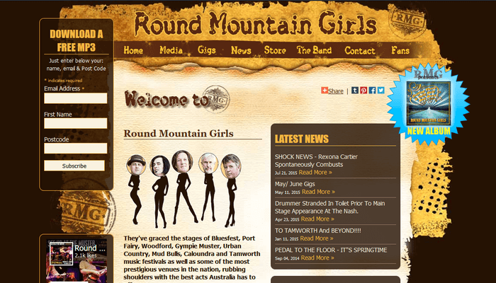 Round Mountain Girls